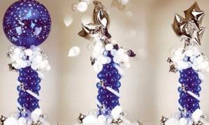 Колонны из воздушных шаров[150]